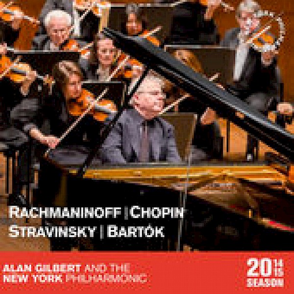 Stravinsky's Firebird Suite and Bartok's Miraculous Mandarin Suite.  New York Philharmonic, David Robertson, conducting